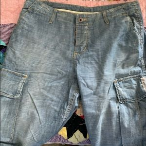 Chip and Pepper denim cargo shorts